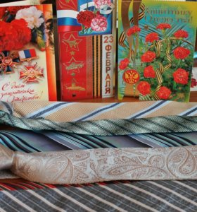 Комплект галстуков