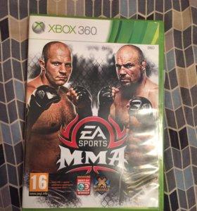 Игра на Xbox 360 mma