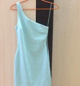 Платье нежно бирюзовое