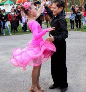 Латино платье на 9-12 лет