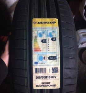 Резина новая Dunlop лето