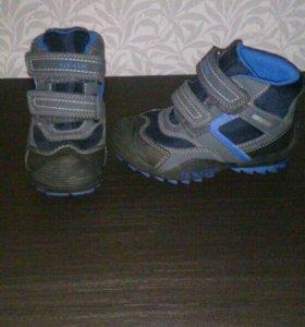 Мембранные ботинки Geox