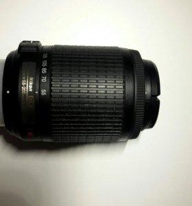 Объектив Nikon DX a-f nikkor 55-200mm 14-5.6g