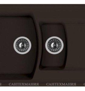 Кухонная мойка Florentina Нире 860К мокко