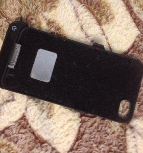 Чехол зарядка для IPhone 4