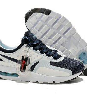Кроссовки Nikе Air Max zero - белые с синим