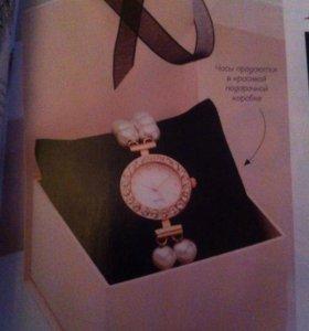 """Часы """"Розовый жемчуг"""""""