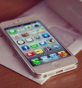 Apple iPhone 5 White, как новый