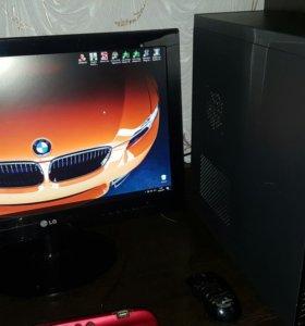 Компьютер Игровой GTX560ti с HD монитором LG 24''
