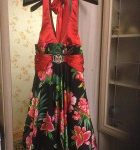 Вечернее,выпускное платье 48-50 р