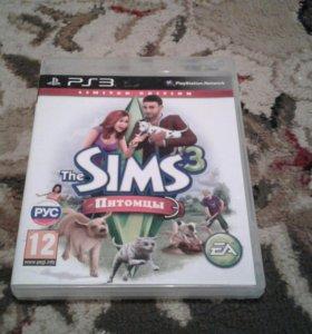 Игровой диск Sims для PS3