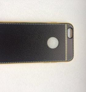 Кожаный чехол на Айфон 6