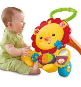 Fisher-Price Ходунки Львенок