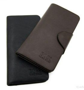 Новый кошелек-портмоне мужской hugo boss