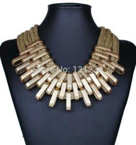 Шикарные массивные ожерелья
