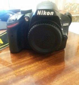Nikon 3200 body