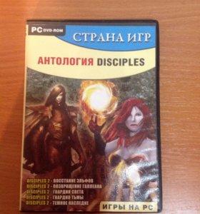 Диск на ПК антология disciples