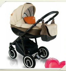 Детская коляска 3 в 1 б/у