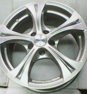 Диски Audi R16 5x112 4шт новые  Alutec