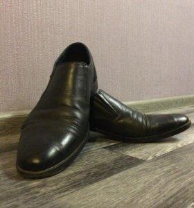 Туфли мужские нат. кожа 44 размер