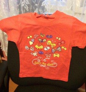 Три детских футболки