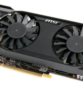 Видеокарта MSI R7870-2GD5T/OC PCI-E 3.0, 2GB gddr5