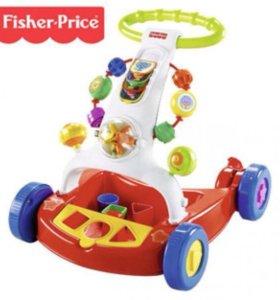 Ходунки-тележка Fisher Price