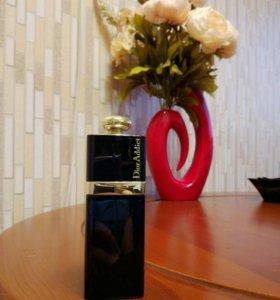 Оригинал  Б/У  Dior Addict black 50 мл
