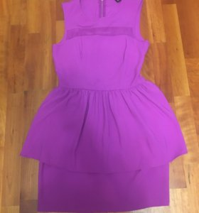 Фиолетовое платье h&m