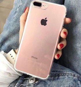 Силиконовый чехол iPhone