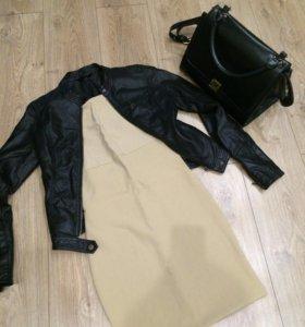 Куртка и платье