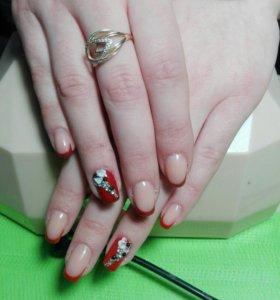 Наращивание ногтей,ресниц