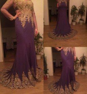 Платье вечернее новое с биркой