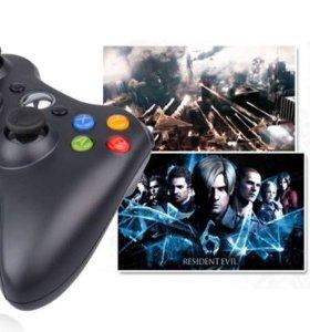 Без пооводной джойстик Xbox 360 геймпад