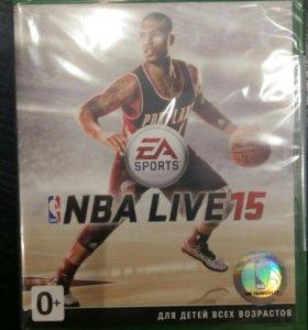 Игра на Xbox One NBA LIVE 2015