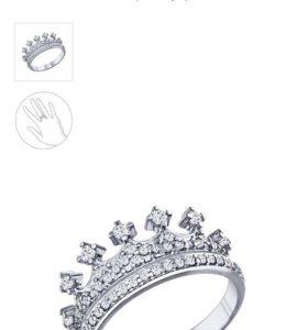 Кольцо корона Sokolov