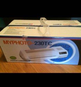 Ламинатор Новый MYPHOTO-230TC