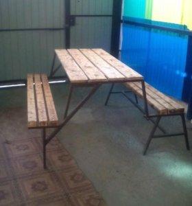 Лавка-стол на заказ
