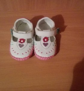 """Продам сандалики на девочку,фирма """"M+D"""""""