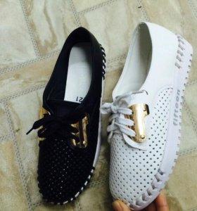 Обувь,белые