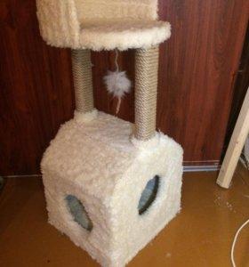 Когтеточка-домик для кошки