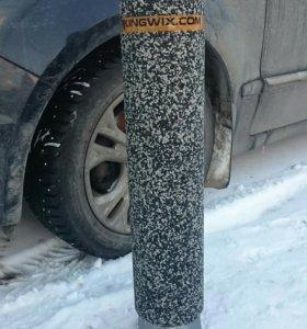 Съемные резиновые парковочные столбики