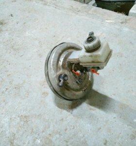 Вакуумный усилитель с ГТЦ на Ладу Калину Гранту