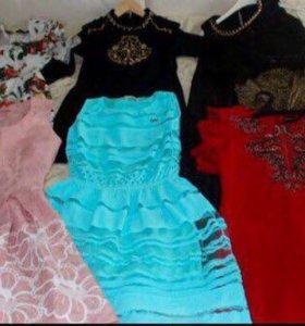 Весенние яркие платья