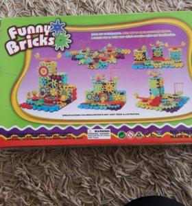 Конструктор Finny Bricks новый 81 деталь
