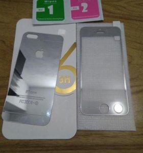 Защитное стекло для iphone 5s/SE