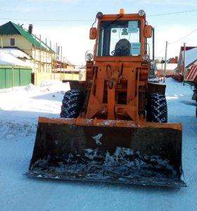 Чистка и вывоз снега