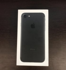IPhone 7, Black, 128GB