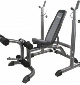 Тренажер для силовых тренировок + штанга