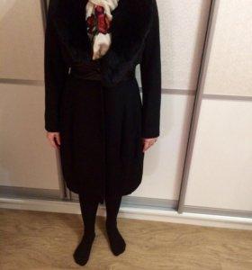 Пальто + шарф